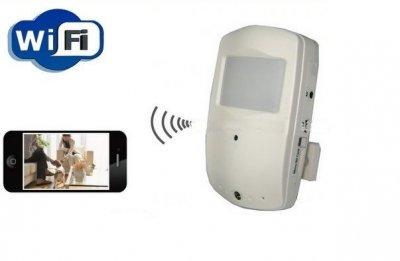 Kamera WiFi judesio daviklyje