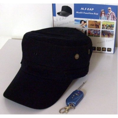 Kamera kepurėje