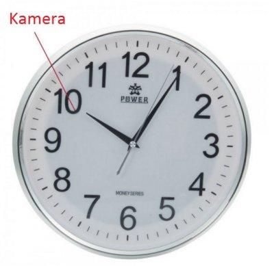 Kamera sieniniame laikrodyje
